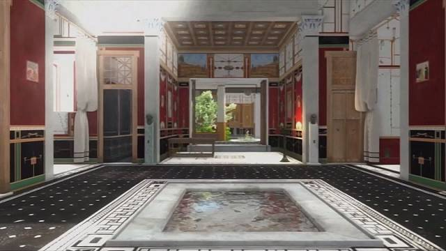 Pompéi : reconstitution numérique de la villa de Lucius Caecilius Lucundus