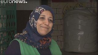 Jordanian female plumbers aim to get more women into work