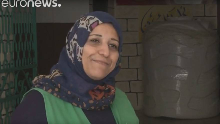 Jordanian female plumbers aim to get more women into work