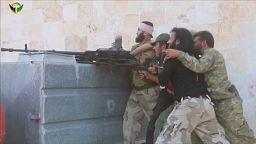 Syrian allied forces warn Turkey over Aleppo