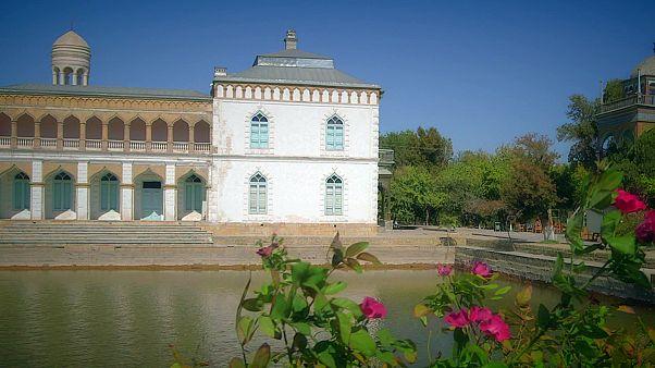 Postcards from Uzbekistan: the Sitorai Mokhi-Khosa Palace