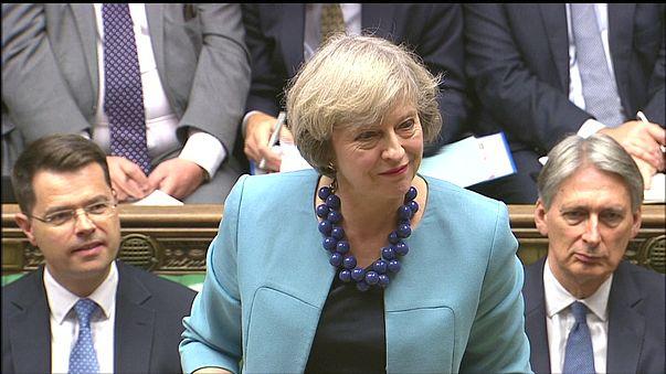 Brexit : le double discours (flou) de Theresa May