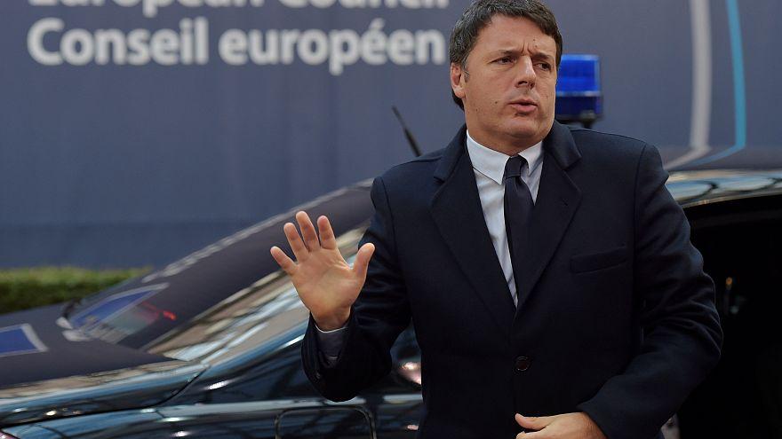 Renzi: l'UE ci aiuti e noi rispetteremo gli impegni