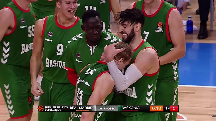 Real Madrid get a Basque bashing in Euroleague