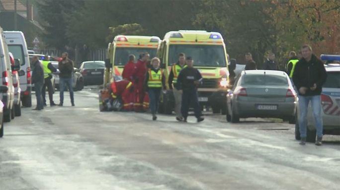 В Венгрии  погиб полицейский в перестрелке с главарем националистической группировки