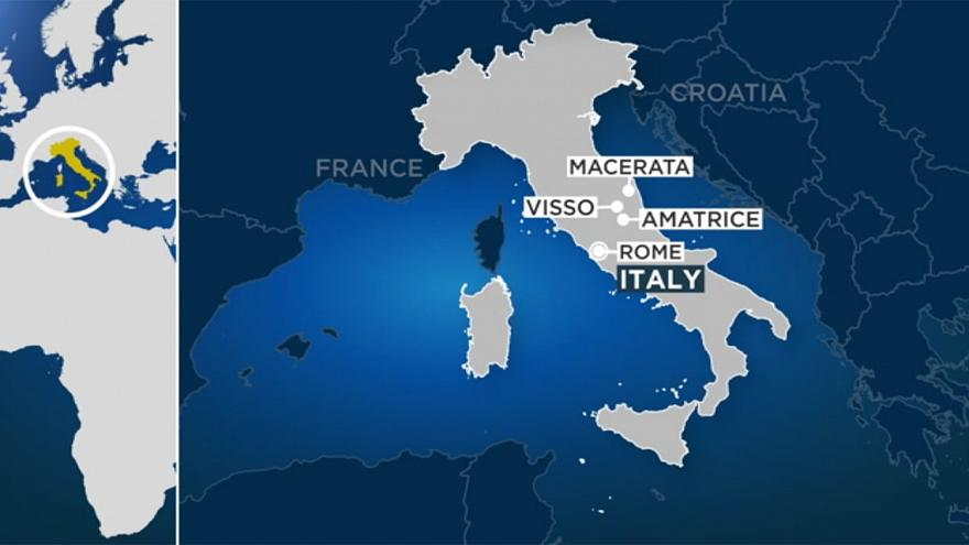 Forti scosse di terremoto in Centro Italia