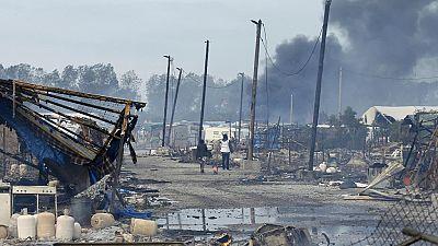 """Fin de la """"jungle"""" de Calais"""