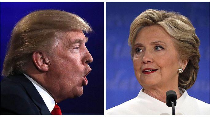Zwei Wochen vor den US-Wahlen: Clinton vs. Trump