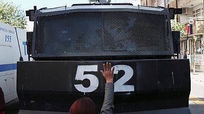 Mouvement d'humeur à Diyarbakir, en Turquie