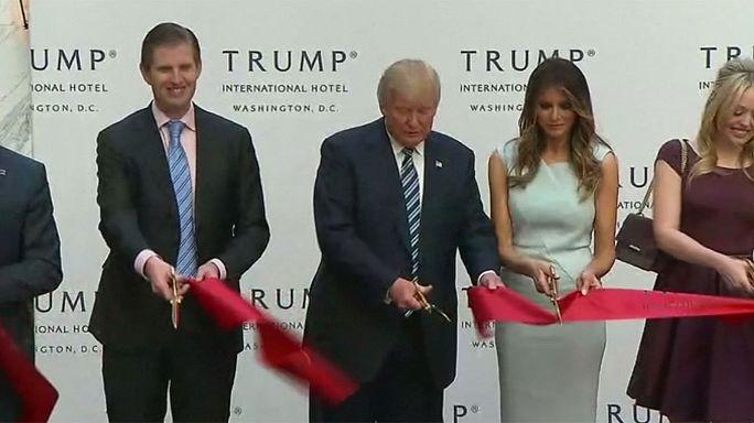 ترامب يفتتح فندقا فاخرا في قلب واشنطن