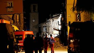 Series of earthquakes hit central Italy