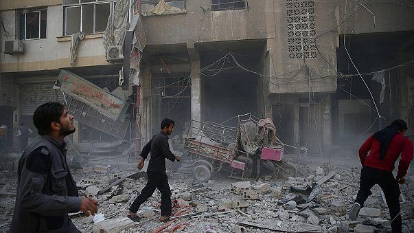 Сирия: в результате удара по провинции Идлиб погибли дети