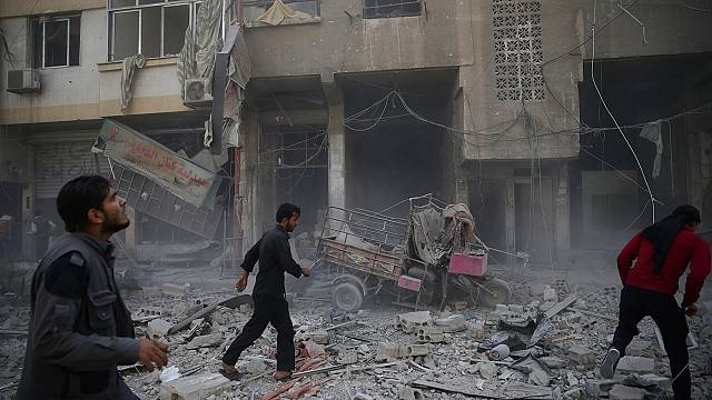 Syria: schoolchildren among 26 killed in airstrikes - reports