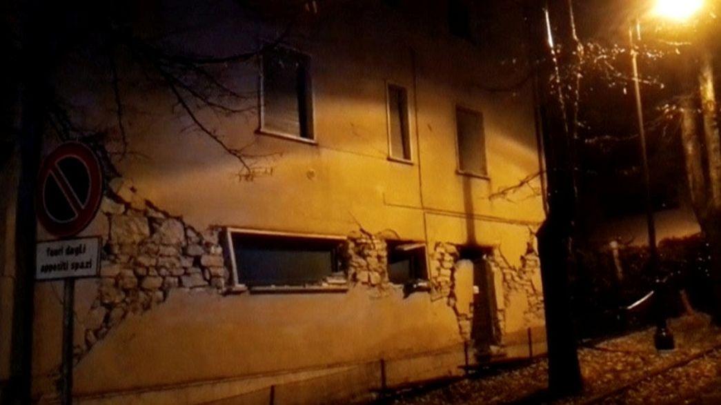 Dos terremotos en la región de las Marcas llevan de nuevo el pánico a Italia