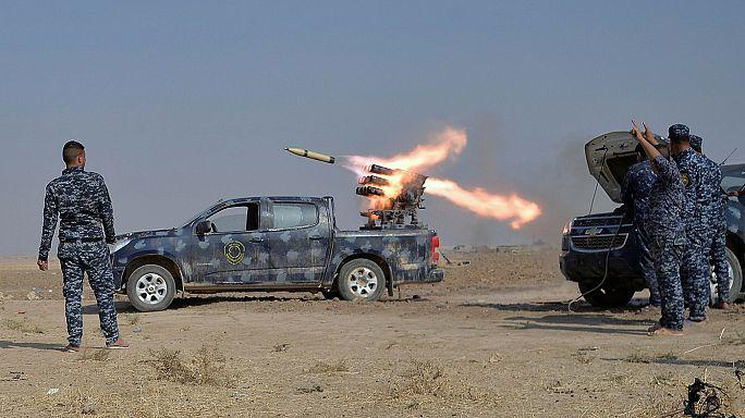 Autour de Mossoul, des milliers d'habitants fuient les combats