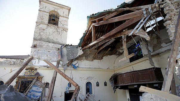 زلزالان و60 هزة ارتدادية ضربت وسط ايطاليا دون اصابات بشرية خطيرة