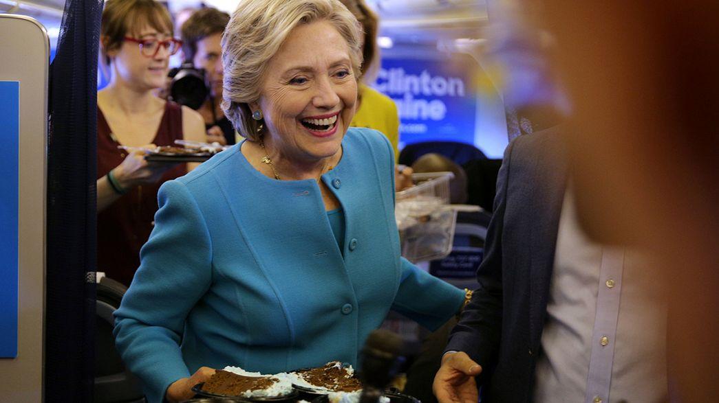 Hillary Clinton ne lâche rien le jour de son anniversaire