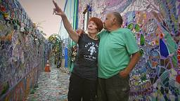 Im Bad fing alles an: Das Mosaik-Haus von Cheri Pann und Gonzalo Durán