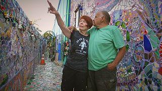 A Los Angeles la casa mosaico