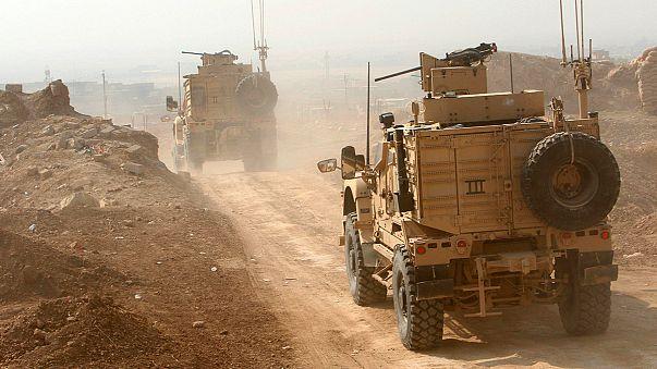 En plein jour, le ciel est noir en Irak