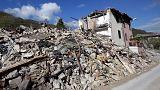 Sismo cria nova falha tectónica no centro de Itália