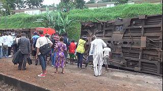 Au moins 80 morts dans un accident ferroviaire au Cameroun [no comment]