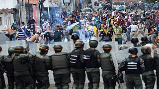 Anti-government protests in Venezuela turn violent