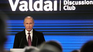 Putin says Russian military threat to NATO is 'imaginary'