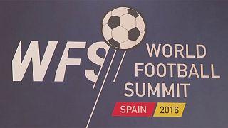 Ouverture à Madrid du World Football Summit