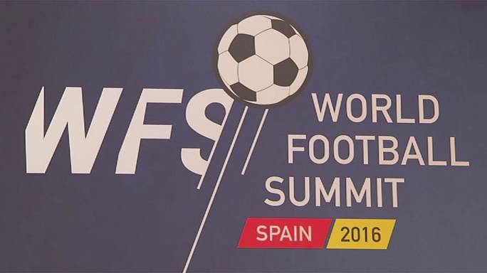 Ouverture à Madrid du World Football Summit