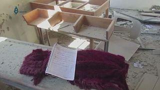 BM'den Suriye'deki okul bombardımanı ile ilgili inceleme çağrısı