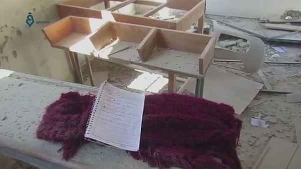 """Ecole syrienne bombardée : Ban-ki Moon exige une """"enquête immédiate"""""""