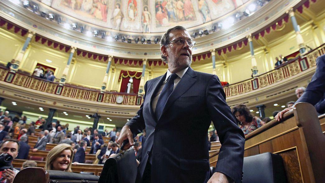 İspanya: Başbakan Rajoy'un azınlık hükümeti 1. turda güvenoyu alamadı