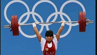 Kazakh weightlifters stripped of medals