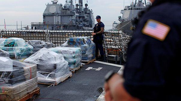 EUA: Guarda costeira apreende 17 toneladas de cocaína