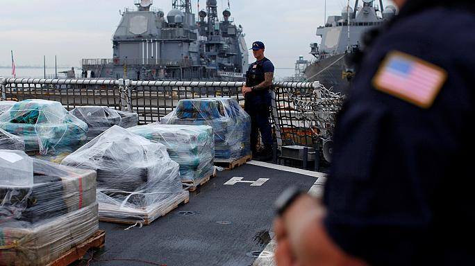 Kokain an Bord: US-Küstenwache stellt 17 Tonnen sicher