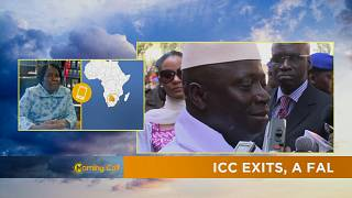 AU Chair Candidate on why African countries should not exit the ICC [The Morning Call]