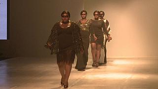 Nigeria's plus size models hit the runway in Lagos [no comment]