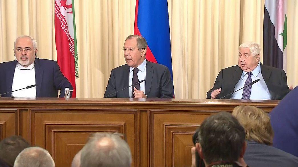 Syrie : le soutien renforcé de Moscou et de Téhéran