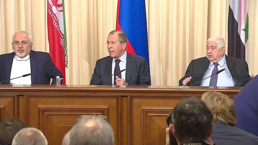 Moscú, Damasco y Teherán abogan por restablecer la tregua en Siria