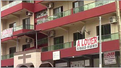Pointe-Noire : crise de l'immobilier
