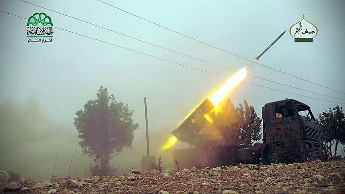 Offenzívát indítottak a kelet-aleppói lázadók, köztük szélsőséges csoportok