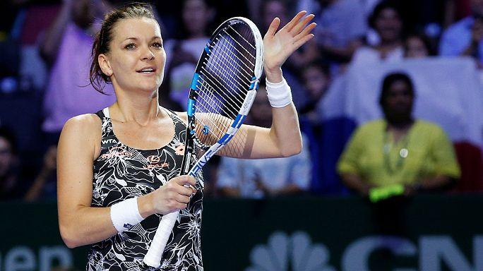 Masters : Radwanska complète le dernier carré