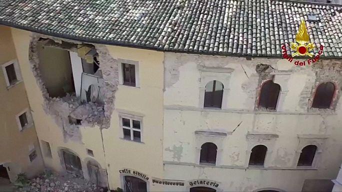 ايطاليا أمام رهان اعادة اسكان منكوبي الزلزالين