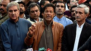مظاهرات ضد رئيس الوزراء في إسلام آباد