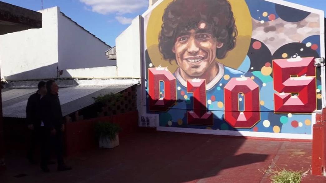 Una casa en la que vivió Maradona se convierte en museo en Buenos Aires