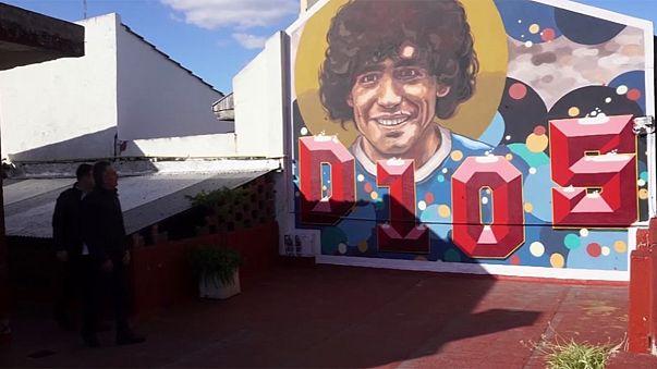 Argentine : une maison de Maradonna transformée en musée à sa gloire