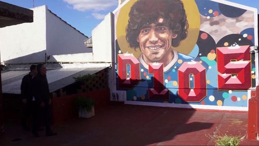 Maradona 'House of God' museum opens in Argentina