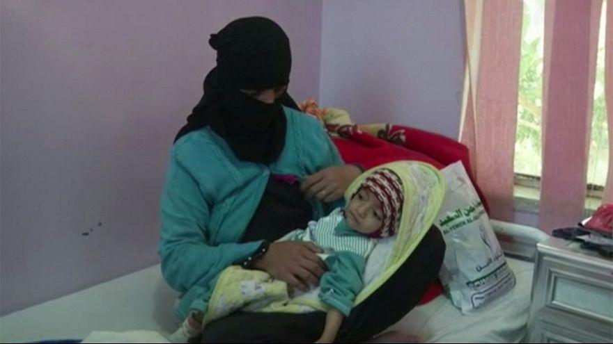Se extiende la epidemia de cólera en Yemen