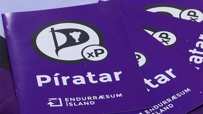 Iceland's radical Pirate party senses victory in parliamentary poll